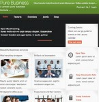 Thumbnail image for Cost to Create Business Website with Joomla 2.5 Template – Pure Business