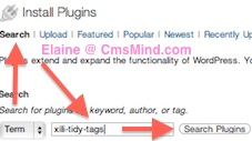 cmsmind elaine wordpress plugin tags xili tidy tags 1 Free Wordpress Plugin   Help Manage Wordpress Tags   Xili Tidy Tags