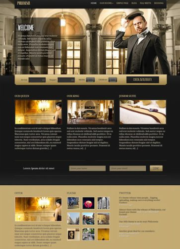 cmsmind hotel clone website wordpress Philoxenia Website Clones and Templates