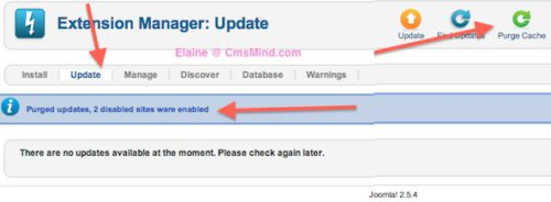 cmsmind joomla update now error 6 Joomla 2.5 Error  1   An error has occurred . Copy failed