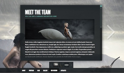 wordpress photography portfolio template gleam 2 Cost to Create an Amazing Photography Website with Wordpress Theme   Gleam