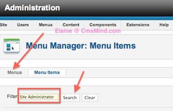 Joomla 2.5 - Remove Site Administrator Link