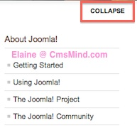 Joomla 2.5 - Change Close Info text in Template