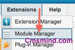 cmsmind joomla extensions module manager Joomla 2.5 Tutorial   How to Remove Contribute!, Books!, Shop! Banners