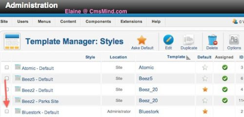 cmsmind joomla show site title administrator 3a Joomla 2.5 Tutorial   How to Add Site Title to Administrator Bar