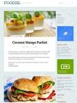 Cooking Recipe Website - Foodie WordPress Theme