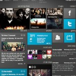 joomla 2 5 music band website template metro shows 150x150 Website Clones and Templates