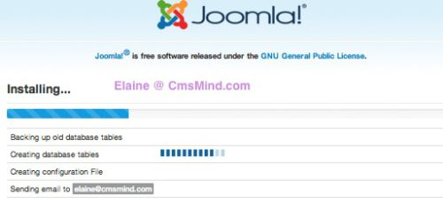 Joomla 3.0 Installation Installing
