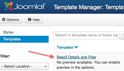 cmsmind joomla 3 template manager edit css files 3 How to Edit the CSS files in Joomla 3.0