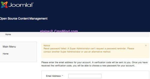 joomla 3 0 administrator forgot password 5 Joomla 3.0 Admin Login Screen