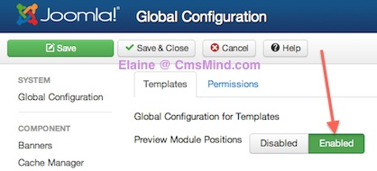 joomla 3 0 template manager options preview positions 2 Joomla 3.0   How to Preview Template Module Positions