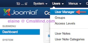joomla 3 0 user manager 1 Joomla 3.0 Create a New Super User Account