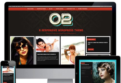 responsive tumblr clone theme02 social blogging 1 Cost to Make a Photo Blogging Website with Wordpress Theme   02