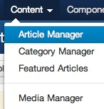joomla 3 article manager Joomla 3.0 Tutorial   How to Empty Trash in Article Manager