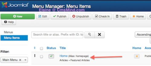 joomla 3 home featured articles 5 Ordering Featured Articles in Joomla 3.0