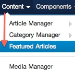joomla 3 re order featured articles 1 Ordering Featured Articles in Joomla 3.0