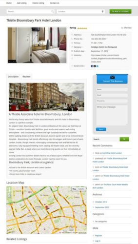 responsive business listing directory wordpress geocraft listing 2 Cost to Make a Responsive Business Directory Listing with Wordpress   GeoCraft