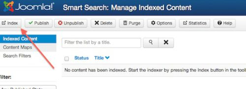 Joomla 3.0 Index Smart Search Component