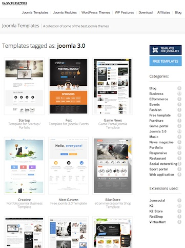 Free and Premium Joomla 30 Templates CmsMind