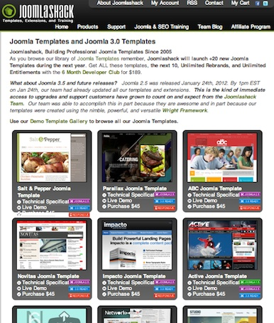 joomla 3 template joomlashack Free and Premium Joomla 3.0 Templates