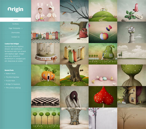 responsive infinite scroll photography portfolio template origin Cost to Create Responsive Portfolio Website with Infinite Scrolling   Origin Theme