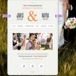 responsive wedding website just married wordpress theme 1 150x150 Website Clones and Templates