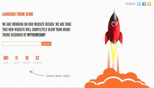 Thumbnail image for Cost to Make a Launch Soon Page with Free WordPress Theme – Launcher