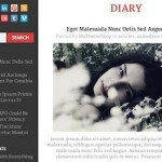free responsive minimalistic diary blog wordpress theme diary 2 150x150 Website Clones and Templates