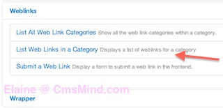 joomla 3 create new menu weblinks item 2 Joomla 3.0 Tutorial   How to Add a Weblink Menu Item