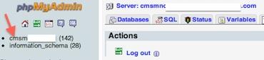 Joomla 3.0 Reset article hits - select database