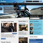 Thumbnail image for Create a News Website with Joomla 3.0 Template Cerulean