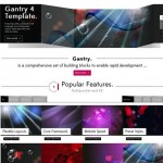 joomla 3 template photography portfolio website fracture 2 150x150 Website Clones and Templates