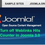 Thumbnail image for How to turn off the Joomla 3.0 Weblinks Hits Counter