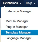 Joomla 3.0 Tutorial - Template Manager