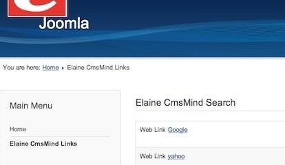 Joomla 3.0 - New Weblinks Menu Item in Main Menu