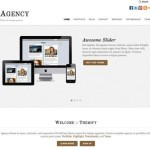 responsive design portfolio agency business template agency 2 150x150 Website Clones and Templates