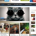 Responsive Magazine Template - Gridbox