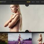 responsive photography template wordpress theme photoartist 2 150x150 Website Clones and Templates