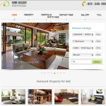 responsive real estate template for property managers wordpress home builder 2 150x150 Website Clones and Templates