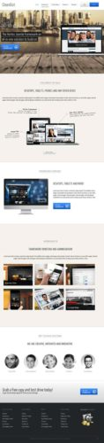Business Joomla 2.5 Joomla 3.0 Template - Cleanout