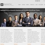business template portfolio template wordpress theme businesstwo 2 150x150 Website Clones and Templates