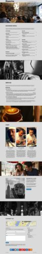 cafe restaurant template responsive wordpress theme moonrise Cost to Make an Elegant Restaurant Website with Wordpress   Moonrise