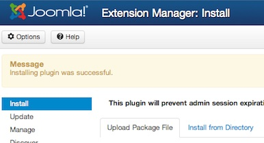 Joomla 3.0 - Plugin successfully installed in Extension Manager
