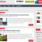 free magazine template responsive wordpress theme ribbon 2 150x150 Website Clones and Templates