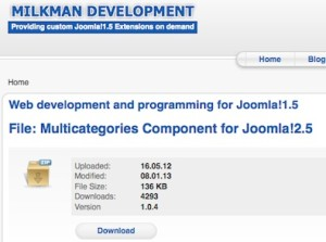 joomla 2 5 assign articles to multiple categories 1 300x223 Joomla 2.5   How to Assign Articles to Multiple Categories