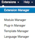 joomla 3 extension manager install module Joomla 3.0   How to Uninstall a Module in Joomla