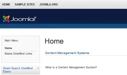 "Joomla 3.0 - Remove Menu Item Title ""Home""  from Menu Item Page"