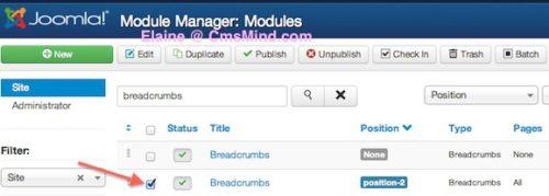 joomla 3 remove home breadcrumbs from homepage 3 Joomla 3.0   How to Remove Home From the Breadcrumbs