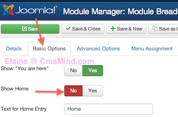 joomla 3 remove home breadcrumbs from homepage 4 Joomla 3.0   How to Remove Home From the Breadcrumbs