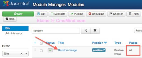 joomla 3 show module on selected pages not on homepage 2 Joomla 3.0   How to Publish Modules on Selected Pages